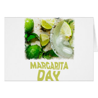 Twenty-second February - Margarita Day Card