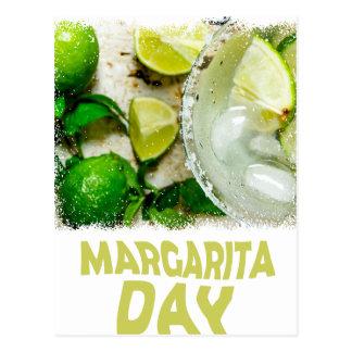 Twenty-second February - Margarita Day Postcard