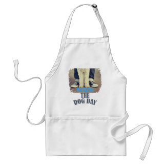 Twenty-second February - Walking the Dog Day Standard Apron