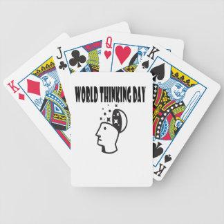 Twenty-second February - World Thinking Day Bicycle Playing Cards