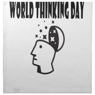 Twenty-second February - World Thinking Day Napkin
