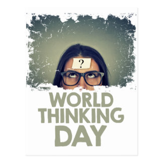 Twenty-second February - World Thinking Day Postcard