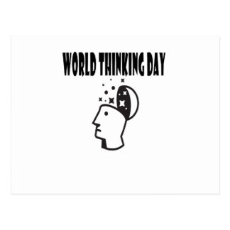 Twenty-second February - World Thinking Day Postcard