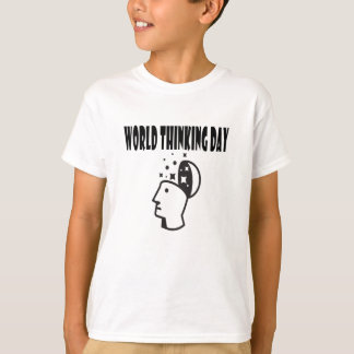 Twenty-second February - World Thinking Day T-Shirt