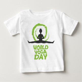Twenty-second February - World Yoga Day Baby T-Shirt