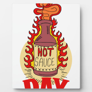 Twenty-second January - Hot Sauce Day Photo Plaques
