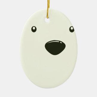 Twenty-seventh February - Polar Bear Day Ceramic Oval Decoration