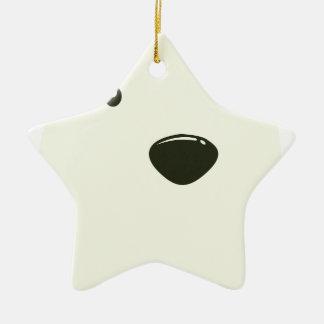 Twenty-seventh February - Polar Bear Day Ceramic Star Decoration