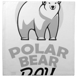 Twenty-seventh February - Polar Bear Day Napkin