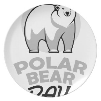 Twenty-seventh February - Polar Bear Day Plate