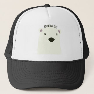 Twenty-seventh February - Polar Bear Day Trucker Hat
