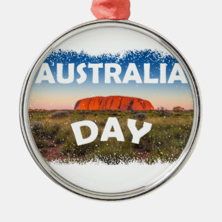Twenty-sixth January - Australia Day Metal Ornament