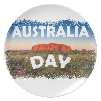 Twenty-sixth January - Australia Day Plate