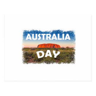 Twenty-sixth January - Australia Day Postcard