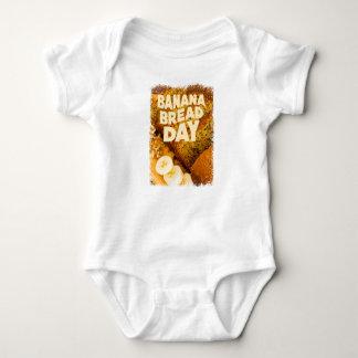 Twenty-third February - Banana Bread Day Baby Bodysuit