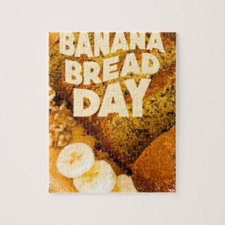 Twenty-third February - Banana Bread Day Jigsaw Puzzle