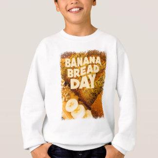 Twenty-third February - Banana Bread Day Sweatshirt