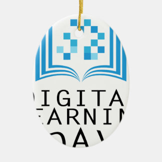 Twenty-third February - Digital Learning Day Ceramic Ornament