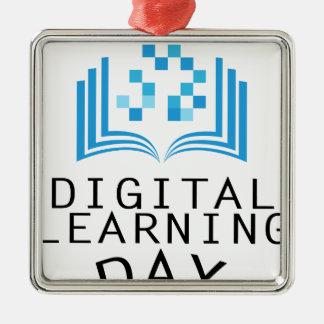 Twenty-third February - Digital Learning Day Metal Ornament