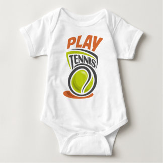 Twenty-third February - Play Tennis Day Baby Bodysuit