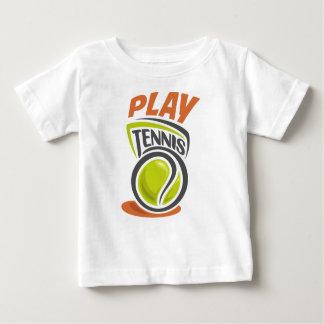 Twenty-third February - Play Tennis Day Baby T-Shirt