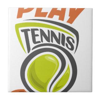 Twenty-third February - Play Tennis Day Tile