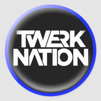 Twerk Nation Sticker 2017