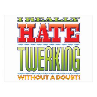 Twerking Hate Post Cards