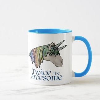 Twice the Awesome! Mug