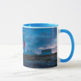 Twilight at the Portland Bill Lighthouse Mug