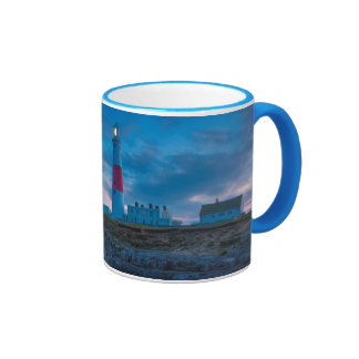 Twilight at the Portland Bill Lighthouse Ringer Mug