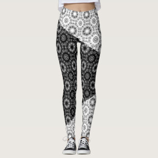 Twilight: Black and White Leggings