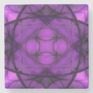 Twilight Bloom Stone Coaster