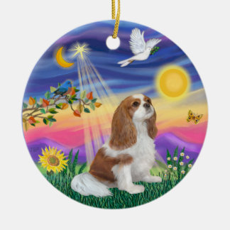 Twilight  - Cavalier (F3) Ceramic Ornament