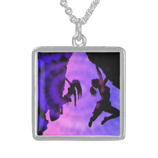 twilight climbers sterling silver necklace