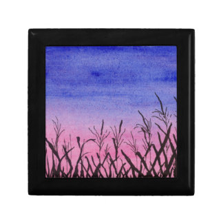 Twilight Corn Field Gift Box
