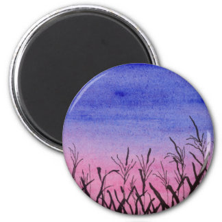 Twilight Corn Field Magnet
