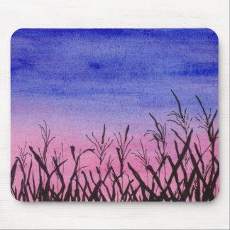 Twilight Corn Field Mouse Pad