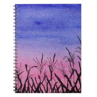 Twilight Corn Field Notebook