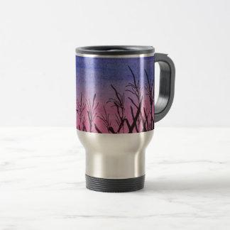 Twilight Corn Field Travel Mug