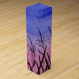 Twilight Corn Field Wine Gift Box