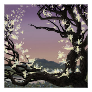 Twilight Faeries Poster