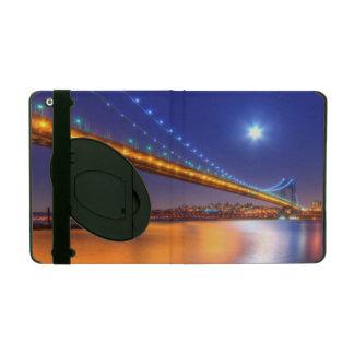 Twilight, George Washington BridgePalisades, NJ. Cover For iPad