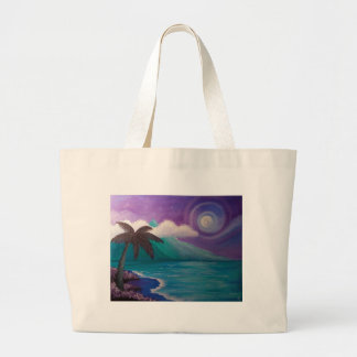 Twilight in Paradise Large Tote Bag