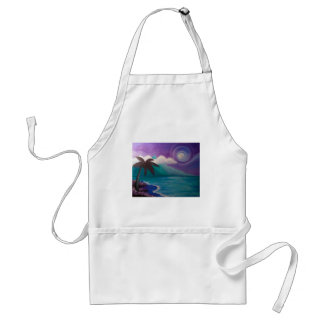 Twilight in Paradise Standard Apron