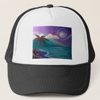 Twilight in Paradise Trucker Hat