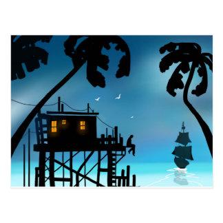 """Twilight in the Tropic PostCard"