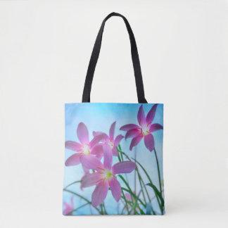 Twilight Lilies Tote Bag