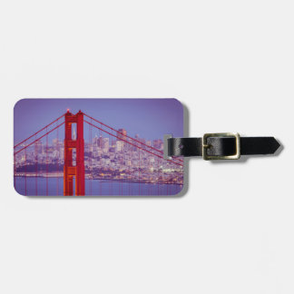 Twilight Over The Golden Gate Bridge Luggage Tags