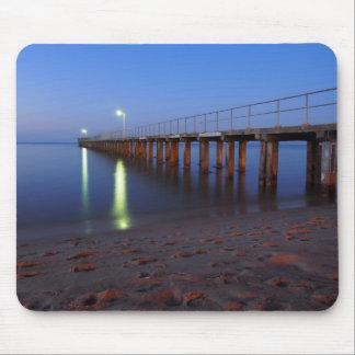 Twilight Pier Mouse Pad
